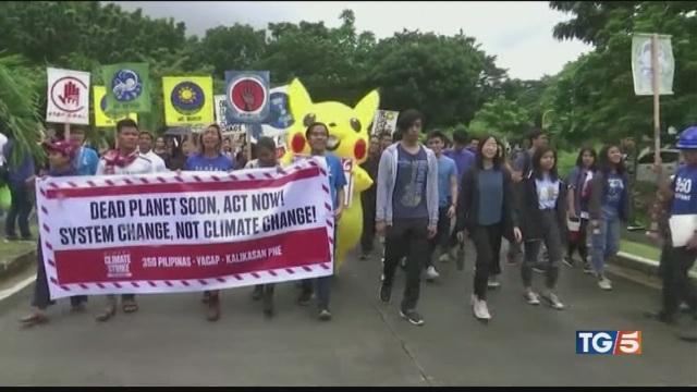 La sfida globale dei 'ragazzi del clima'
