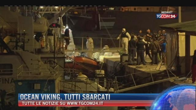 Breaking News delle ore 14.00: 'Ocean Viking, tutti sbarcati'