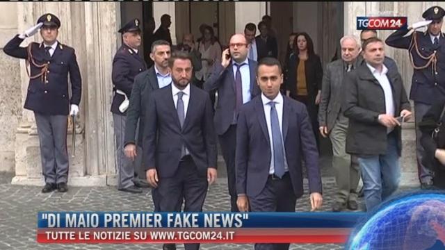 Breaking News delle 16.00: 'Di Maio Premier fake news'
