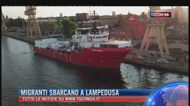 Breaking News delle ore 21.30: 'Migranti sbarcano a Lampedusa'
