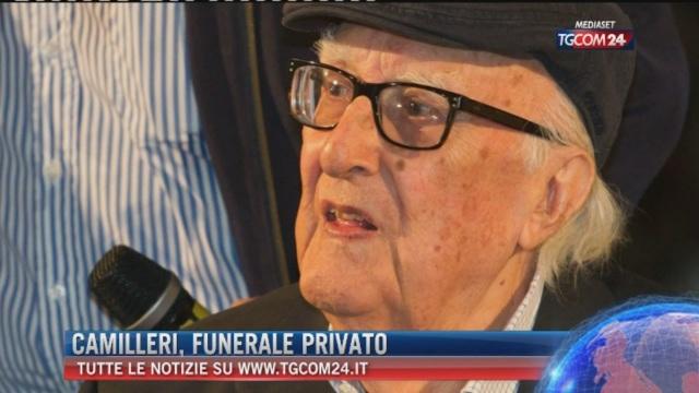 Breaking News eelle ore 16.00: Camilleri, funerali privato