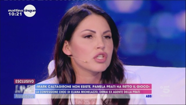 La confessione di Eliana Michelazzo