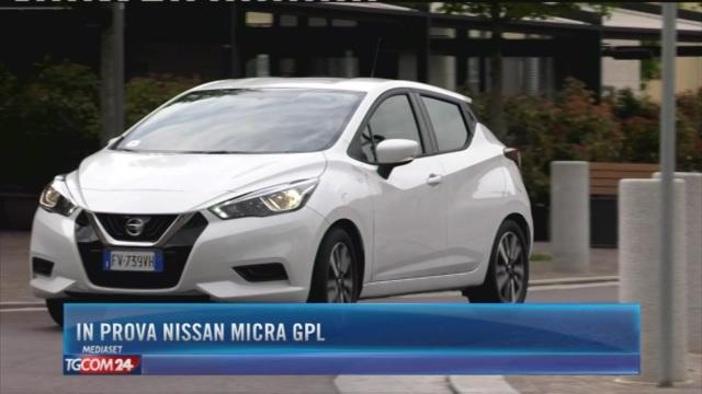In prova Nissan Micra Gpl