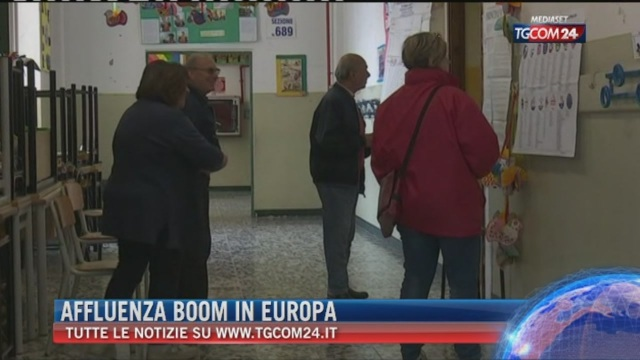 Breaking News delle ore 21.30: Affluenza boom in Europa