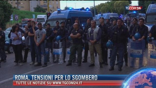 Breaking News delle ore 12.00: Roma, tensioni per lo sgombero