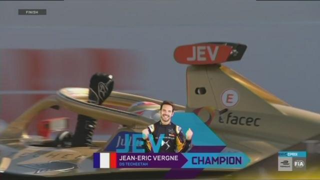 Vergne è ancora campione di Formula E