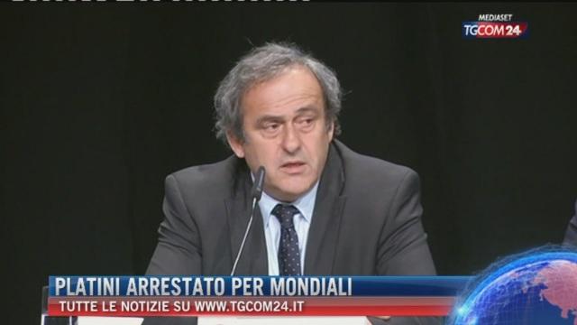 Breaking News dell eore 12.00: Platini arrestato per Mondiali