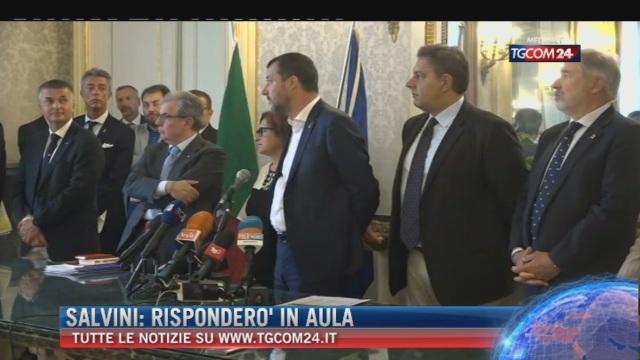 Breaking News delle ore 16.00; Salvini: 'Risponderò in aula'