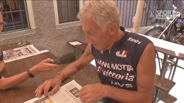 Gimondi, Gianni Motta si commuove: 'Lo chiamavo Felicione'
