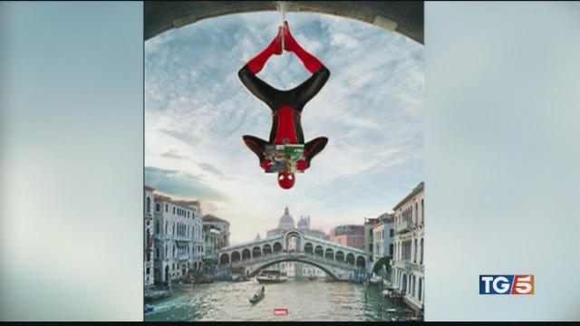 Spiderman a Venezia