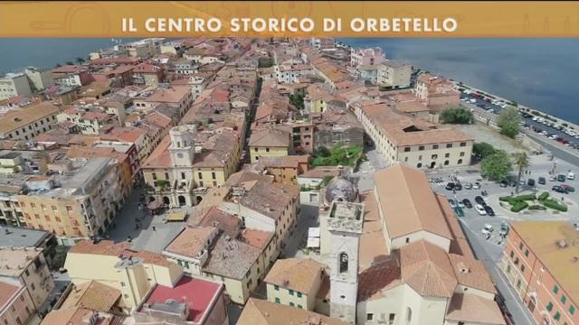 Il centro storico di Orbetello