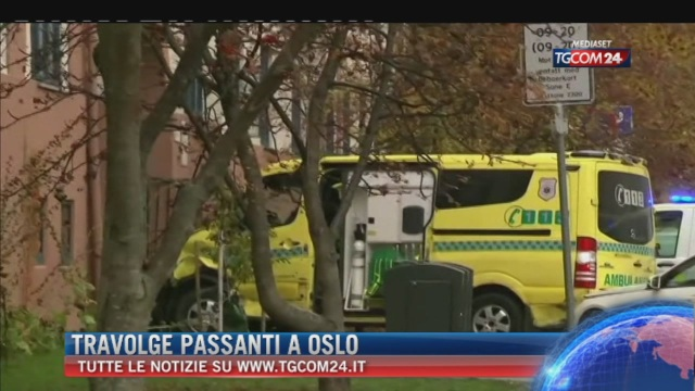 Breaking News delle ore 16.00: 'Travolge passanti a Oslo'