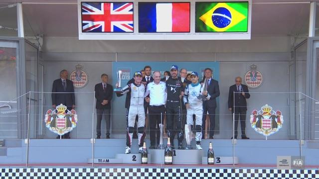Il primo podio di Massa