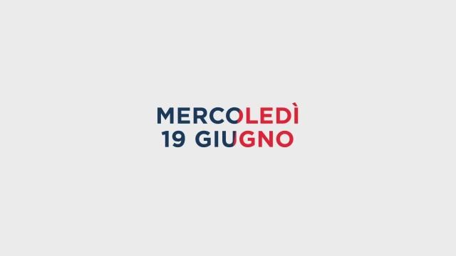 Stasera in Tv sulle reti Mediaset, 19 giugno