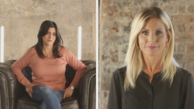 Le due protagoniste: Bianca e Alessandra
