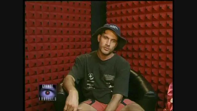 Sergio Volpini 'l'ottusangolo' al Grande Fratello 2000