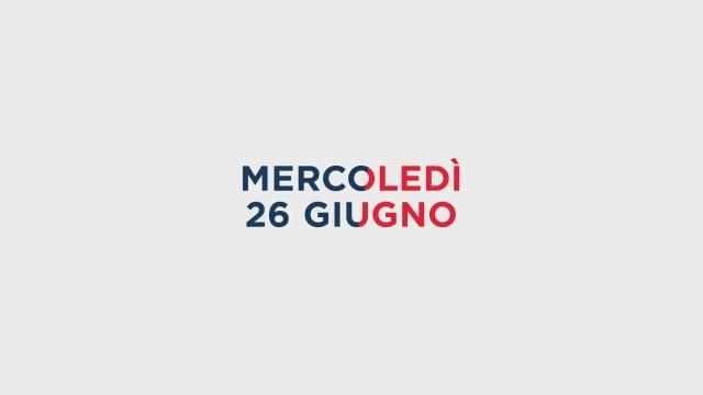 Stasera in Tv sulle reti Mediaset, 26 giugno