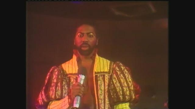 I Village People si esibiscono con 'Do you wanna spend the night' a Superclassifica Show 1982