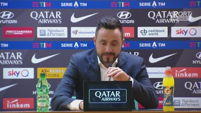 De Zerbi: 'Abbiamo reso la vita facile alla Roma'