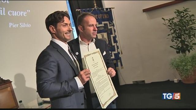 Portofino: Pier Silvio è cittadino onorario