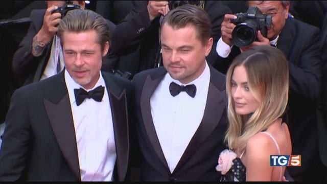 Brad Pitt e Di Caprio i bellissimi di Cannes