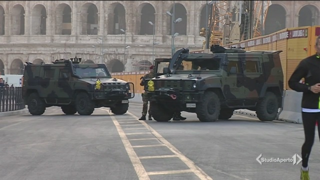 Roma, scatta l'allerta terrorismo