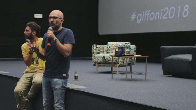 Lo scrittore Donato Carrisi incontra i ragazzi in masterclass e riceve il premio Giffoni Experience