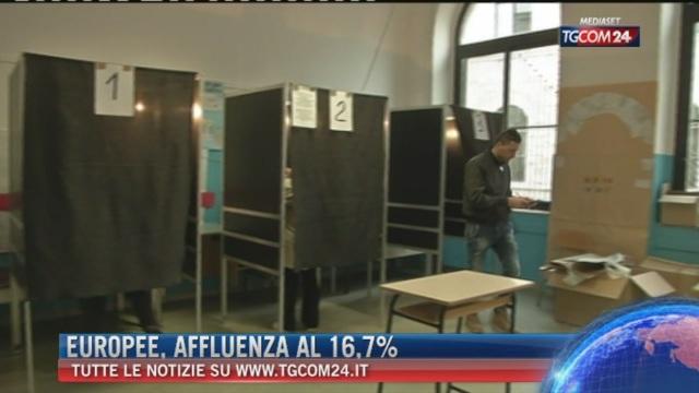 Breaking News delle ore 16.00: Europee, affluenza al 16,7%
