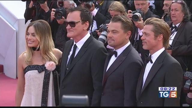 Cannes impazzisce per Pitt e Di Caprio