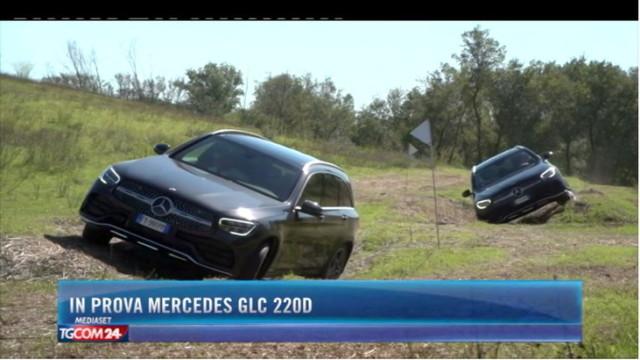 In prova Mercedes GLC 220d