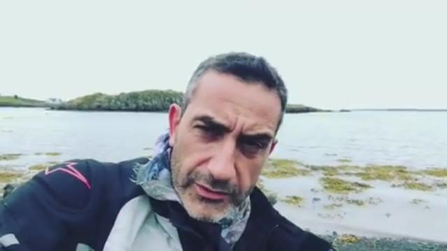 Viviani in Islanda contro la pedofilia: 'Mi sono preso la febbre!'
