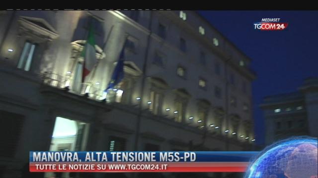 Breaking News delle ore 09.00: 'Manovra, alta tensione M5s-Pd'