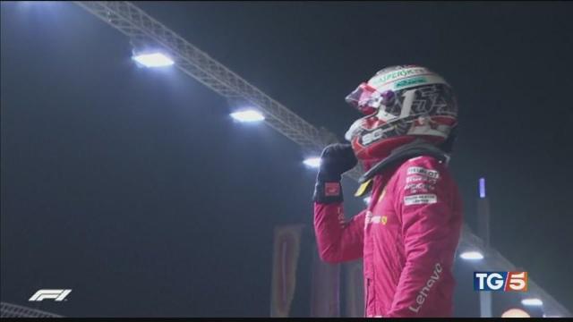 Per Leclerc è la terza prima fila con la Rossa