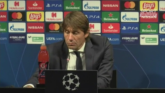 Conte attacca l'arbitro: 'Mi sono sentito a disagio'