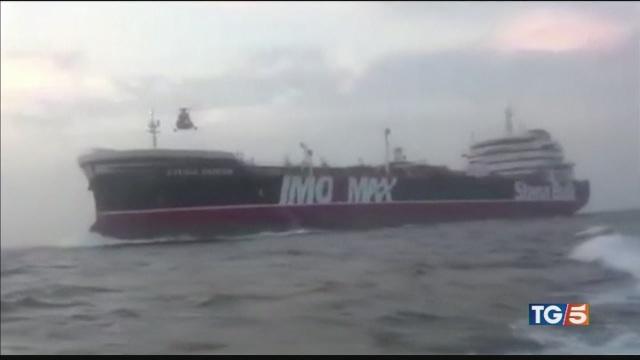 Petroliera sequestrata tensione Londra-Iran