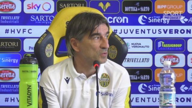 Verona, Juric: 'Juve? Non impossibile da battere'