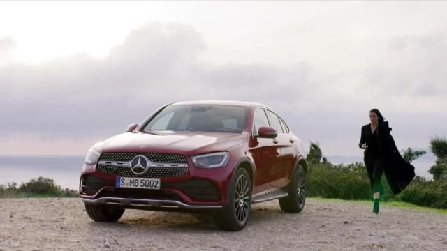 Mercedes nuovo GLC Coupé