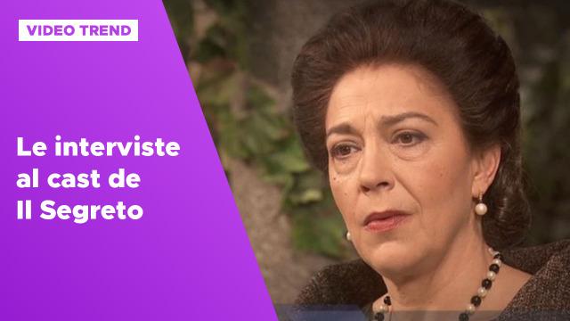 Le interviste al cast de Il Segreto