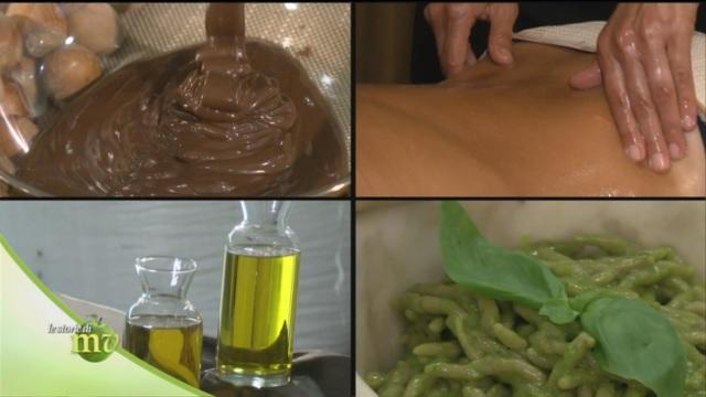 Farina e olio di nocciola
