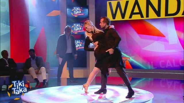 Wanda Nara balla il tango