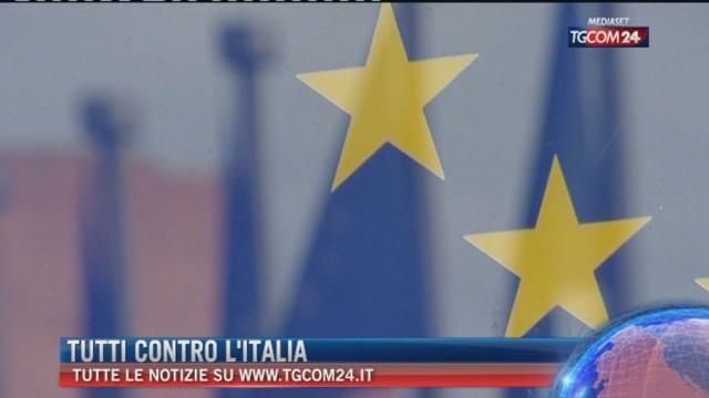 Breaking News delle ore 11.00: Tutti contro l'Italia