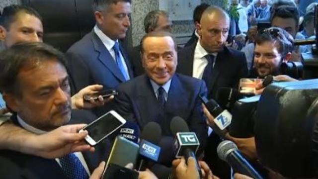 Berlusconi: 'Giampaolo-Milan forse merito mio'