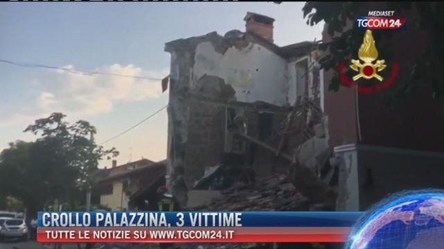 Breaking News delle ore 12.00: Crollo palazzina, 3 vittime