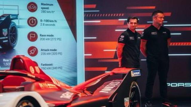 Formula E, ecco la Porsche